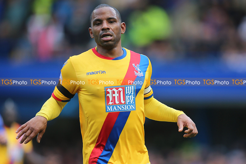 Jason Puncheon of Crystal Palace during Chelsea vs Crystal Palace, Premier League Football at Stamford Bridge on 1st April 2017
