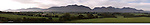 A panorama view of The McGillycuddy Reeks.<br />