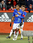 06.02.2019 Aberdeen v Rangers: Alfredo Morelos celebrates his  second goal
