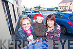 DAY OUT: Having a lovely day out shopping in Rathmore on Friday were Maureen Martin with Ryan and Siobha?n Daly.   Copyright Kerry's Eye 2008