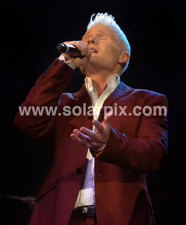 **ALL ROUND PICTURES FROM SOLARPIX.COM**.**WORLDWIDE SYNDICATION RIGHTS**.Rhydian performing in concert at the Liverpool Echo Arena, Liverpool, UK. 30 July 2009..This pic: Rhydian..JOB REF: 9644 SGD     DATE: 30_07_2009.**MUST CREDIT SOLARPIX.COM OR DOUBLE FEE WILL BE CHARGED**.**MUST NOTIFY SOLARPIX OF ONLINE USAGE**.**CALL US ON: +34 952 811 768 or LOW RATE FROM UK 0844 617 7637**