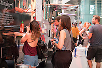 Guests Enjoy Local Food Trucks at KCRW and The Annenberg Foundation Present Sound In Focus