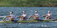 Rotterdam. Netherlands.   Junior SEMI FINAL A/B, GBR JW4- GBR JW4-, India Somerside, Bryony Lawrence, Frances Russell and Alex Rankin, sit on the start at the  2016 JWRC, U23 and Non Olympic Regatta. {WRCH2016}  at the Willem-Alexander Baan.   Saturday  27/08/2016 <br /> <br /> [Mandatory Credit; Peter SPURRIER/Intersport Images]