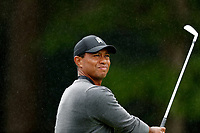 Tiger Woods (USA) tees off on the 2nd hole during the second round of the 118th U.S. Open Championship at Shinnecock Hills Golf Club in Southampton, NY, USA. 15th June 2018.<br /> Picture: Golffile | Brian Spurlock<br /> <br /> <br /> All photo usage must carry mandatory copyright credit (&copy; Golffile | Brian Spurlock)