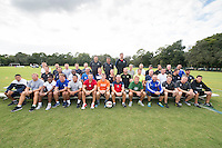 Orlando, FL - Friday Oct. 14, 2016:   Group picture during a US Soccer Coaching Clinic in Orlando, Florida.