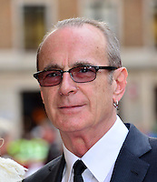 Francis Rossi <br /> The &quot;Bula Quo!&quot; UK film premiere, Odeon West End cinema, Leicester Square, London, England.<br /> July 1st, 2013<br /> headshot portrait white shirt tinted glasses <br /> CAP/BF<br /> &copy;Bob Fidgeon/Capital Pictures