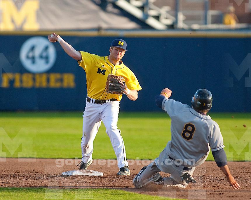 University of Michigan baseball 3-1 loss to the University of Toledo at the Wilpon Baseball Complex in Ann Arbor, MI, on April 13, 2011.