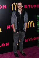 WEST HOLLYWOOD, CA - DECEMBER 05: Keean Johnson arriving at the Nylon Magazine December 2013/January 2014 Cover Launch Party held at Quixote Studios on December 5, 2013 in West Hollywood, California. (Photo by Xavier Collin/Celebrity Monitor)