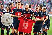 2018 Bayern Munich wins season league title v Augburg Apr 7th