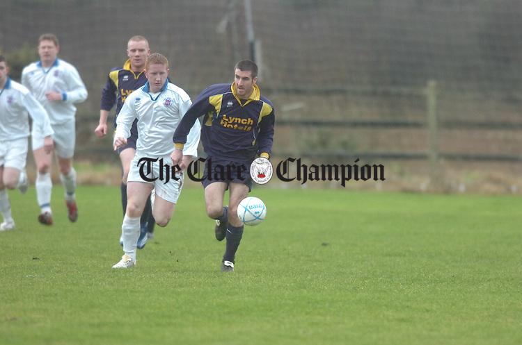 Oscar traynor soccer Clare v Limerick Doora