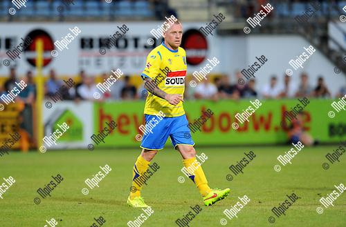 2014-07-26 / Voetbal / seizoen 2014-2015 / KVC Westerlo - Sporting Lokeren / Birger Maertens<br /><br />Foto: mpics.be
