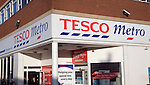 Tesco Metro shop front, Felixstowe