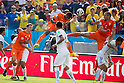 Leroy Fer (NED), JUNE 23, 2014 - Football / Soccer : Leroy Fer of Netherlands scores his side's first goal during the FIFA World Cup Brazil 2014 Group B match between Netherlands 2-0 Chile at Arena de Sao Paulo Stadium in Sao Paulo, Brazil. (Photo by Maurizio Borsari/AFLO)