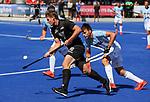 Steve Edwards during the Pro League Hockey match between the Blacksticks men and the Argentina, Nga Punawai, Christchurch, New Zealand, Sunday 1 March 2020. Photo: Simon Watts/www.bwmedia.co.nz