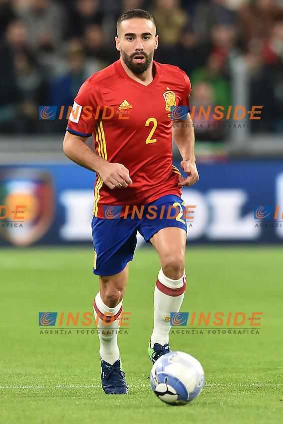 Dani Carvajal Spain <br /> Torino 06-10-2016 Juventus Stadium <br /> World Cup Qualifiers Italy - Spain / Italia - Spagna. Foto Andrea Staccioli / Insidefoto