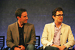 """Guiding Light's Matt Bomer """"Ben Reade"""" and now """"Neal Caffrey on USA's White Collar cast: Tim DeKay """"Peter Burke"""" and Guiding Light's Matt Bomer """"Neal Caffrey"""" were a part of White Collar Comes Clean at the Paley Center for Media, New York City, NY on June 7, 2010. (Photo by Sue Coflikn/Max Photos)"""