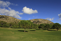 The 4th during the Pro-Am of the Challenge Tour Grand Final 2019 at Club de Golf Alcanada, Port d'Alcúdia, Mallorca, Spain on Wednesday 6th November 2019.<br /> Picture:  Thos Caffrey / Golffile<br /> <br /> All photo usage must carry mandatory copyright credit (© Golffile | Thos Caffrey)