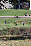 Two golfing couples on a golf course in Branson, Missouri