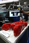 June 24, 2010 - Tokyo, Japan - The Vectoron VMC-6000, an articulated three-dimensional coordinate measuring machine able to move on complicated 3D free-form surfaces, is pictured at the 3D and Virtual Reality Expo in Tokyo, Japan, on June 24, 2010. The Japan's largest 3D and virtual reality expo runs from June 23-25 and gives to nearly 1'680 companies to showcase in Tokyo Big Sight 3D cameras and monitors, robots, software, sound systems, scanners, simulators and other products related to 3D and virtual reality.