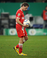 FUSSBALL   DFB POKAL   SAISON 2011/2012  ACHTELFINALE  Fortuna Duesseldorf - Borussia Dortmund              20.12.2011 Andreas Lambertz (Duesseldorf) ist enttaeuscht