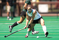 STANFORD, CA - SEPTEMBER 6: Xanthe Travlos takes possession during competition against Michigan State on September 6, 2010 in Stanford, California.