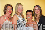Jackie O'Mahony representing Tralee Musical Society with supporters before the 2008 Kerry Rose Selection in The Earl of Desmond Hotel on Saturday night l/r Maeve Keegan, Jackie O'Mahony, Ena O'Shea and Ciara O'Callaghan. ...   Copyright Kerry's Eye 2008
