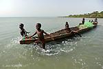 Barel peninsula Canabaque island..pointe  de Barel  sur l ile de Canabaque..
