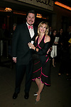 Merwin Foard and Rebecca Baxter attending the Opening Night of the Broadway Musical Landmark, SWEENEY TODD at the Eugene O'Neill Theatre in New York City.<br />