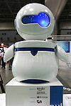 July 30, 2010 - Tokyo, Japan - The Roobo Customize Team's communication robot 'Pul' is displayed during Robotech, at Tokyo Big Sight, Japan, on July 30, 2010. 'Pul' possesses automatic speech recognition and speech synthesis functions, sensors and video intrusion detection system integrating and send informations to computers through a local area network.