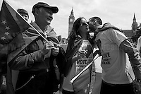 """London: Kiss The Hate Away! World Record of Kisses"".<br />