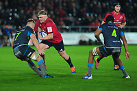 John Ryan of Munster in action during the Heineken Champions Cup Round 1 match between the Ospreys and Munster at the Liberty Stadium in Swansea, Wales, UK. Saturday 16th November 2019
