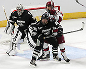 Hayden Hawkey (PC - 31), Robbie Hennessey (PC - 25), Ty Pelton-Byce (Harvard - 11) - The Harvard University Crimson defeated the Providence College Friars 3-0 in their NCAA East regional semi-final on Friday, March 24, 2017, at Dunkin' Donuts Center in Providence, Rhode Island.