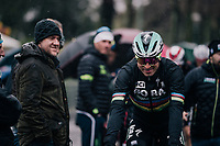 World Champion Peter Sagan (SVK/Bora-Hansgrohe) to the start<br /> <br /> 12th Strade Bianche 2018<br /> Siena &gt; Siena: 184km (ITALY)