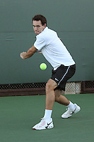 STANFORD, CA - NOVEMBER 16:  Richard Wire of the Stanford Cardinal during photo day on November 16, 2009 at the Taube Family Tennis Stadium in Stanford, California.