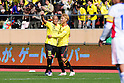 (L-R)  Jorge Wagner, Junya Tanaka (Reysol),.MARCH 3, 2012 - Football / Soccer :.Jorge Wagner of Kashiwa Reysol celebrates with his teammate Junya Tanaka after scoring the opening goal during the FUJI XEROX Super Cup 2012 match between Kashiwa Reysol 2-1 F.C.Tokyo at National Stadium in Tokyo, Japan. (Photo by AFLO)