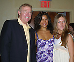 OLTL's Jerry ver Dorn and January Lavoy and BethAnn Bonner at the One Life To Live Fan Club Luncheon on August 16, 2008 at the New York Marriott Marquis, New York, New York.  (Photo by Sue Coflin/Max Photos)