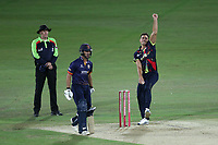 Marcus Stoinis in bowling action for Kent during Kent Spitfires vs Essex Eagles, Vitality Blast T20 Cricket at the St Lawrence Ground on 2nd August 2018