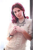 Mar 07, 2014: DELAIN - Charlotte Wessels Photosession in Paris France