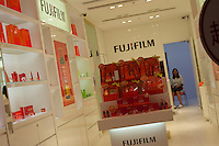 A Fujifilm cosmetics shop in Hong Kong. .
