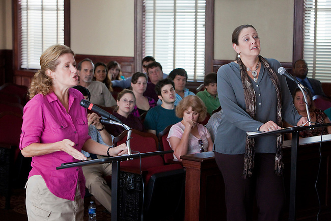 Nancy Travis and Camryn Manheim in the Lifetime Television Original Movie 'The Pregnancy Pact,' loosely based on the 2008 Gloucester High School case.