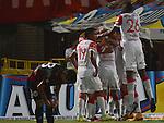 Cucuta Deportivo empato  2x2 Con Independiente Santa Fe en la segunda fecha de el torneo apertura de la liga postobon del futbol Colombiano