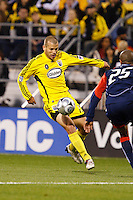 25 OCTOBER 2009:  during the New England Revolution at Columbus Crew MLS game in Columbus, Ohio on October 25, 2009.