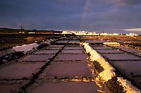 Europe/Espagne/Canaries/Lanzarote/Costa de Teguise : Salines del Charco