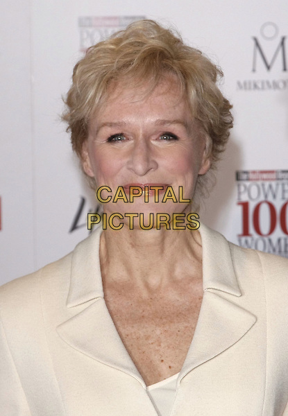 GLENN  CLOSE .at The Hollywood Reporter's Annual Women in Entertainment Breakfast held at The Beverly Hills Hotel in Beverly Hills, California, USA, .December 5th 2008.                                                                     .portrait headshot white cream.CAP/DVS.©Debbie VanStory/Capital Pictures