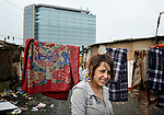 Skurta Hodici, 17, lived in an illegal Roma settlement in Belgrade, Serbia, in February 2012. The families that lived here, most of whom survive from recycling cardboard and other materials, were forcibly evicted in April 2012. Many including Hodici were moved into metal shipping containers on the edge of Belgrade.
