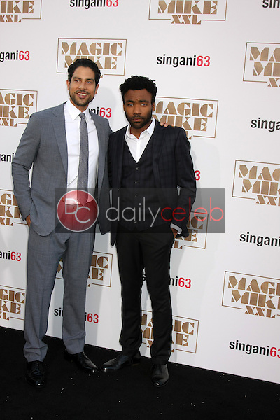 "Adam Rodriguez, Donald Glover <br /> at the ""Magic Mike XXL"" Premiere, TCL Chinese Theater, Hollywood, CA 06-25-15<br /> David Edwards/DailyCeleb.com 818-249-4998"