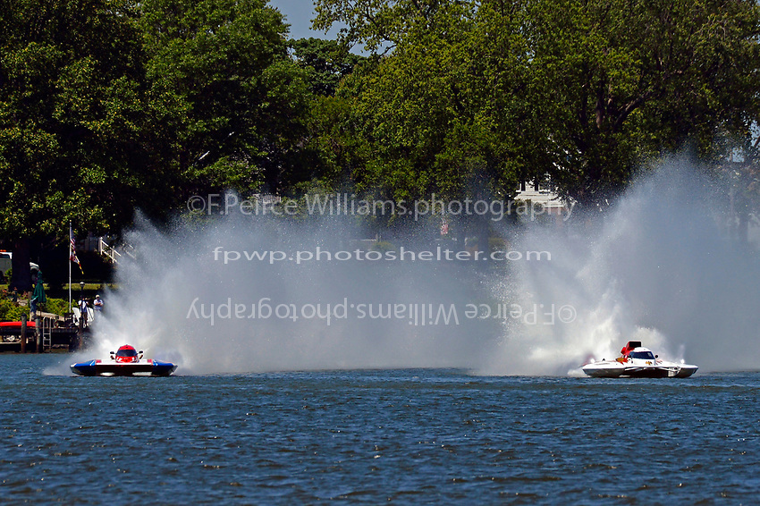 "Marc Theoret/Ghislain Marcoux, GP-444 ""GP Valleyfield"" and Ken Brodie II, GP-50 ""Intensity"" (Grand Prix Hydroplane(s)"