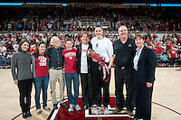 STANFORD, CA--during PAC-12 conference play against Utah  at Maples Pavilion. The Cardinal won the matchup against the Utes 69-42.