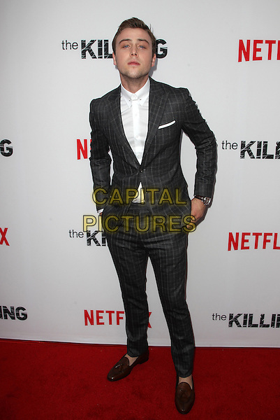 14 July 2014 - Hollywood, California - Sterling Beaumon. Premiere Of Netflix's &quot;The Killing&quot; Season 4 Held at The ArcLight Cinemas. <br /> CAP/ADM/FS<br /> &copy;Faye Sadou/AdMedia/Capital Pictures