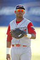 June 22, 2009:  First Baseman Francisco Murillo of the Williamsport Crosscutters during a game at Dwyer Stadium in Batavia, NY.  The Crosscutters are the NY-Penn League Short-Season Single-A affiliate of the Philadelphia Phillies.  Photo by:  Mike Janes/Four Seam Images